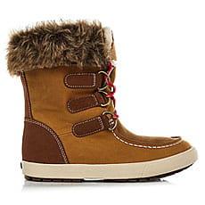 Ботинки высокие женские Roxy Rainier Boot Brown2