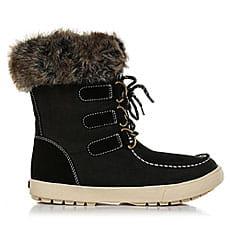 Ботинки высокие женские Roxy Rainier Boot Black1