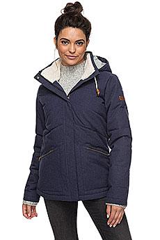 Куртка зимняя женская Roxy Nancy Peacoat1