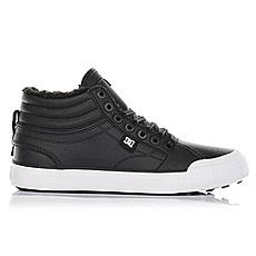 Кеды зимние женские DC Shoes Evan Hi Wnt Black/White/Black3