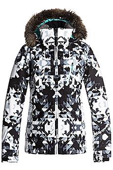 Куртка утепленная женская Roxy Jet Ski Prem Bright White_geodeco2