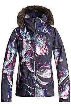 Куртка сноубордическая женская Roxy Jet Ski Prem Peacoat_seamless Fea3