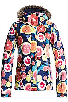 Куртка сноубордическая женская Roxy Jet Ski Lemon Tonic_fruitsof2
