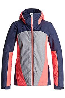 Куртка сноубордическая женская Roxy Sassy Heritage Heather1