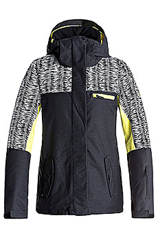 Куртка сноубордическая женская Roxy Rx Jetty Blo True Black_savanna
