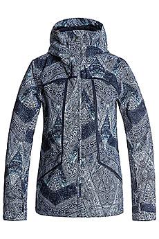 Куртка утепленная женская Roxy Wildlife Peacoat_avoya2