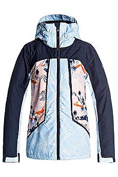 Куртка сноубордическая женская Roxy Wildlife Mandarin Orange_pop3