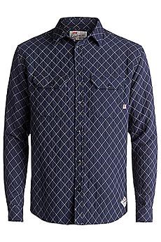 Рубашка в клетку Quiksilver Rippa Down Medieval Blue1