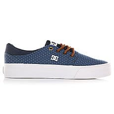 Кеды низкие женские DC Shoes Trase Tx Se Blue/Brown/White2
