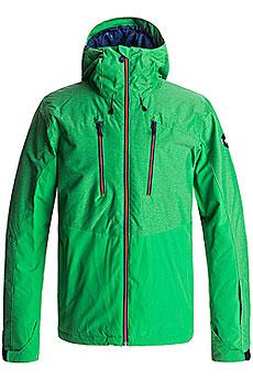 Куртка сноубордическая Quiksilver Mission Plus Kelly Green1