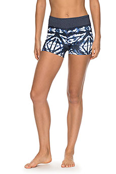 Шорты пляжные женские Roxy Naturaltwist Sh Dress Blues Geometri2