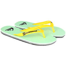 Вьетнамки Quiksilver Molokai Black/Green/White3