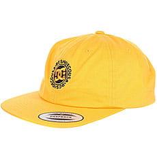 Бейсболка с прямым козырьком DC Core Twill Cap Old Gold3