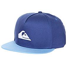 Бейсболка с прямым козырьком детская Quiksilver Stuckles Snap Bright Cobalt2
