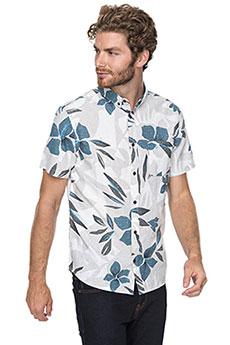 Рубашка Quiksilver Sslinenprintshi Sleet Linen2