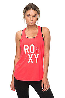 Майка женская Roxy Pari Walk Tank Smocking Red3