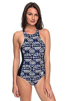 Купальник женский Roxy Ro Fa Fas One Dress Blues Geometri1