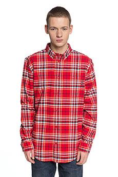 Рубашка в клетку DC South Ferry Tango Red1