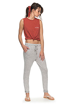 Штаны спортивные женские Roxy Cozychillpant Heritage Heather3