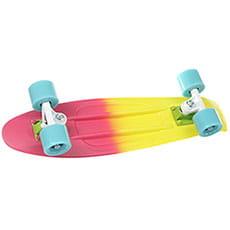 Скейт мини круизер Quiksilver San Francisco Pop Pink 6 x 22.5 (57 см)3