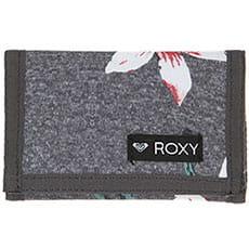 Кошелек женский Roxy Small Beach 2 J Charcoal Heather Flo3