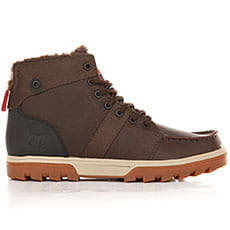 Ботинки зимние DC Shoes Woodland Boot Brown/Green/Black3