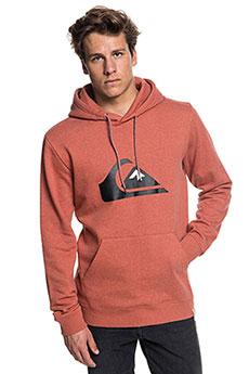 Толстовка кенгуру QUIKSILVER Big Logo Hood Barn Red Heather2