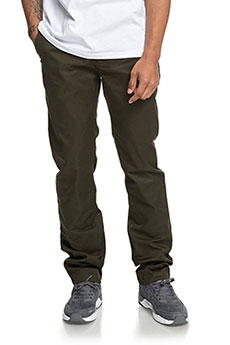 Штаны прямые DC Worker Straight Dark Olive2