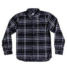 Рубашка в клетку детская DC Marsha Ls Boy Black Iris1