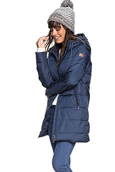 Куртка зимняя женская Roxy Evening Shadow Dress Blues1