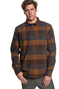 Рубашка в клетку QUIKSILVER Stretchflannel Stretch Flannel Rubb3