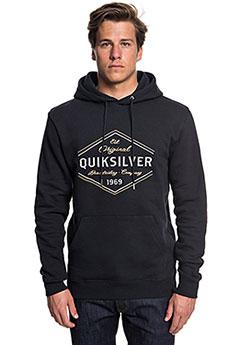 Толстовка кенгуру QUIKSILVER Nowherenorthhoo Black1