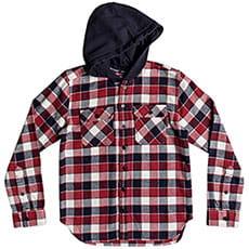 Рубашка утепленная детская DC Runnels Ls Boy Tango Red2