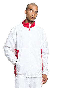 Ветровка DC Skate Track Top White1