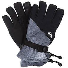 Перчатки сноубордические QUIKSILVER Mission Glove Grey simple Texture3