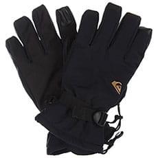 Перчатки сноубордические QUIKSILVER Mission Glove Black1