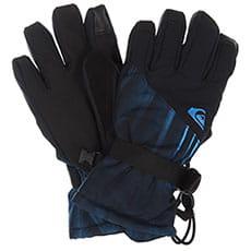 Перчатки сноубордические детские QUIKSILVER Mission Yth Glove Daphne Blue stellar2