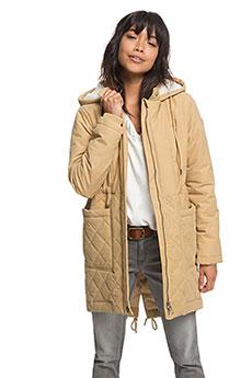Куртка зимняя женская Roxy Slalomchic Curry1