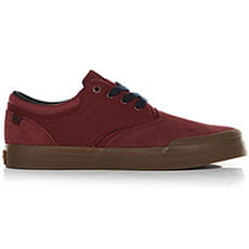 Кеды низкие QUIKSILVER Verant Red/Blue3