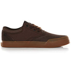 Кеды низкие QUIKSILVER Verant Brown/Brown/Black1
