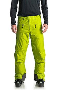 Штаны сноубордические QUIKSILVER Boundry Lime Green1