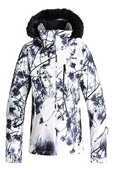 Куртка утепленная женская Roxy Jetski Premium Bright White_pine3
