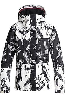Куртка утепленная женская Roxy Rx Jetty Block True Black_love Lett1