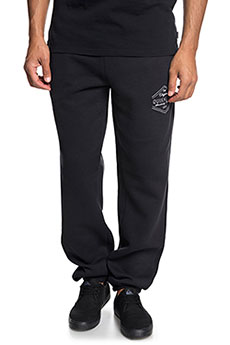 Штаны спортивные QUIKSILVER Trackpantscreen Black2
