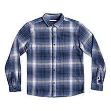 Рубашка в клетку детская QUIKSILVER Fatherfly Navy Blazer Fatherfl2