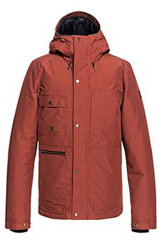 Куртка зимняя QUIKSILVER Canyon Barn Red1