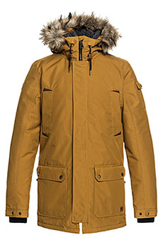 Куртка парка QUIKSILVER Ferris Golden Brown2