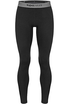 Термобелье (низ) Super Natural Base Tight Blаck3