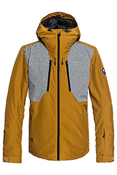 Куртка утепленная QUIKSILVER Mission Plus Golden Brown3