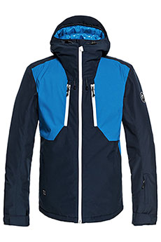 Куртка утепленная QUIKSILVER Mission Plus Dress Blues1